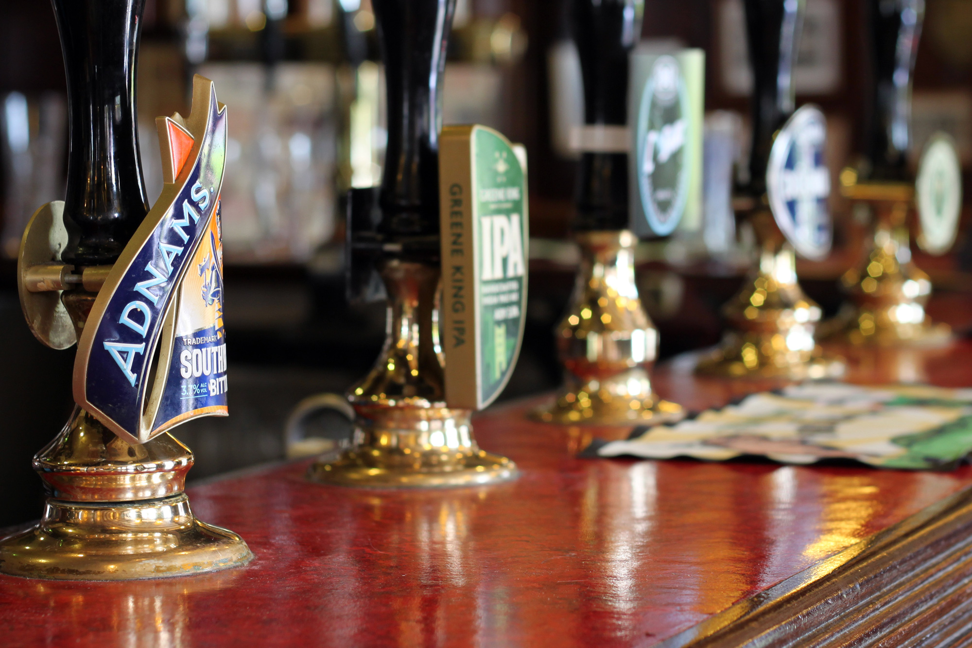 Cask Ales, Bottled Beers, Lagers